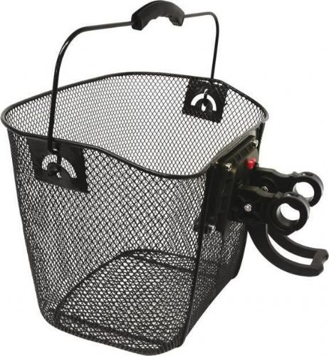 Bicycle Bike Wire Mesh Shopping Basket With Handle New
